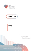 DNA Competencies, 23 competencies, 23 soft skill competencies, online assessment report cover - CEO, CEOs, business owners, business owner, management, senior managers, decision makers, team leaders, Team Leaders, Executive, executive - TTI Performance Systems - TTI DNA assessments