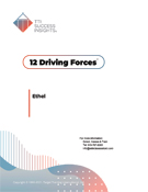 report cover - 12 Driving Forces, TTI Performance Systems