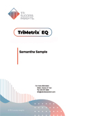 TriMetrix Emotional Quotient, TriMetrix EQ, Emotional Intelligence, emotional quotient, emotional intelligence assessment - TTI Performance Systems, Target Training International, TTI emotional quotient, eq, emotional intelligence assessment